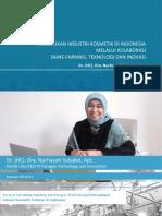 Peluang Industri Kosmetik di Indonesia
