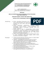 NO 6. SK Media Komunikasi Dan Koordinasi Lintas Sektor 2018