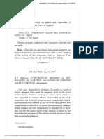 11 B.F. Metal (Corporation) vs. Lomotan