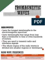 Electromagnetic Spectrum Applications
