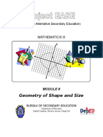 Module 8 – Geometry of Shape and Size