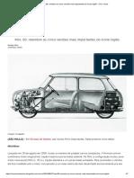Mini, 60_ Relembre as Cinco Versões Mais Importantes Do Ícone Inglês - UOL Carros