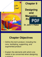 Marketing for Hospitality and Tourism Chapter 9 Designing and Managing Products
