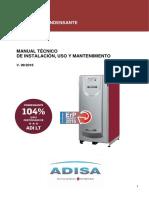 ADI-LT-DT-ESP Manual Técnico