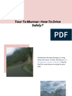 Tour to Munnar _ How to Drive Safely