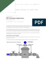 DP Type Instrument Applications