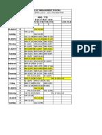 Schedule 25thAug 1stSep