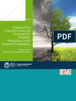 WB Report - Supporting Transformational Engagements