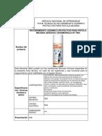 Ficha Tecnica de Recubrimiento Cerámico Protector Para Pistola Mig