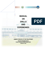 Manual on Drills and Ceremonies