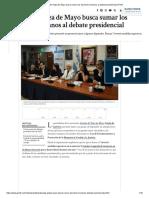 Abuelas de Plaza de Mayo busca sumar Derechos Humanos  al debate presidencial
