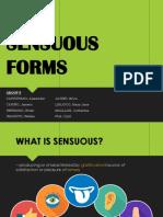 Sensuous Forms