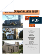 Parish News September 2019 - Parishes of Newcastle & Newtownmountkennedy with Calary, Co. Wicklow