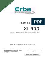 XL600 Service Manual (110V)