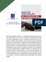 GUIA DE PREVENCAO E COMBATE A CORRUPACAO