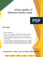 nutritionalqualitiesofvariouspoultrymeat-161029164401