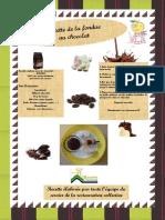 Recette de la fondue au chocolat