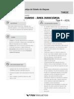 TJ AL 2018 Tecnico Judiciario - Area Judiciaria (TJ-AJUDIC) Tipo 4