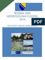 BiH 2014 Floods Needs Assessment