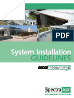 System Installation Guidelines IKO Spectraplan TPE