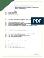 2019 BMS1021 Practice Questions
