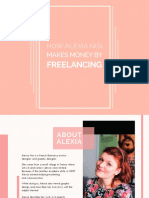 How Alexia Nici Makes Money by Freelancing