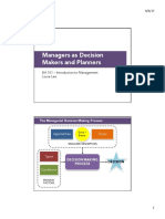 LN BA101 5 Managers as Decision Makers and Planners S12017