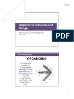 LN BA101 7 Organization Culture and Design S12017