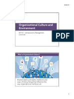 LN BA101 3 Organizational Culture and Environment S12017