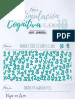 Cuaderno de Ejercicios de Estimulación Cognitiva Grupo Las Mimosas