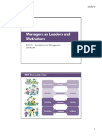 LN BA101 10 Managers as Leaders and Motivators S12017