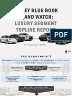 2019Q2 Brand Watch Luxury Topline