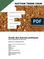 Guide Des Bonnes Pratiques de La Construction en Terre Crue