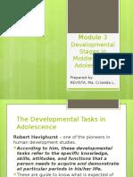 MODULE 3 Personal Development SHS