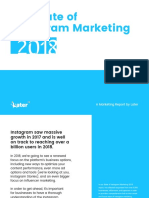 The State of Instagram Marketing 2018 by Later