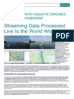 Streaming Data Processed Live to the World Wide Web