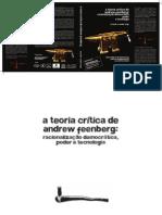NEDER, Ricardo. A teoria crítica de Andrew Feenberg.pdf