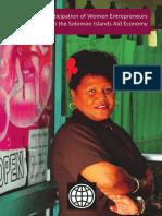 Solomon Islands Women in SME
