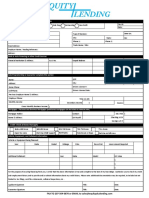 Preliminary Credit Application Fillable