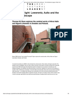 Horizontal Light_ Lewerentz, Aalto and the Nordic Landscape -