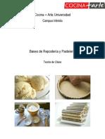 Manual de Teoría Bases de Repostería y Pastelería