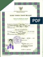 Agus Khairon Ijazah Smun 1 Cilegon