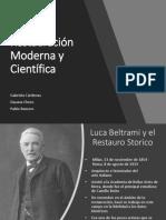 Camilo Boito y el restauro moderno