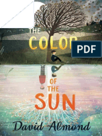 The Color of the Sun by David Almond Chapter Sampler
