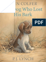 The Dog Who Lost His Bark by Eoin Colfer  & P. J. Lynch Chapter Sampler