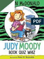 Judy Moody, Book Quiz Whiz Chapter Sampler