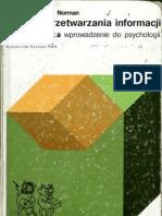 P. H. Lindsay, D. A. Norman - Procesy przetwarzania informacji  u człowieka