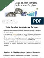 Modelo Geral Da Administração Da Produção e Suas