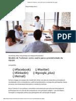 Modelo de Tuckman Como Usá-lo Para a Produtividade Da Equipe