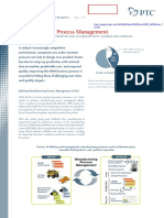 management process manufacturing